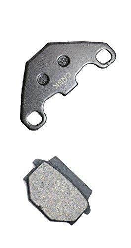 CNBK Rear Brake Pad Semi-met for HUSQVARNA Dirt Bike WRK125 WRK 125 90up 1990up 1 Pair2 Pads