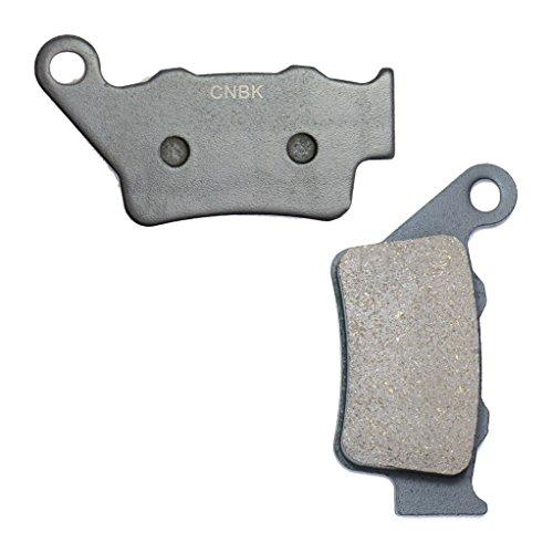 CNBK Rear Brake Pads Resin fit HUSQVARNA Dirt Bike CR250 CR 250 96 97 98 99 1996 1997 1998 1999 1 Pair2 Pads