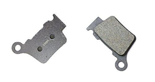CNBK Rear Brake Pads Semi-Metallic fit HUSQVARNA Dirt Bike WR300 WR 300 09 10 11 12 13 2009 2010 2011 2012 2013 1 Pair2 Pads