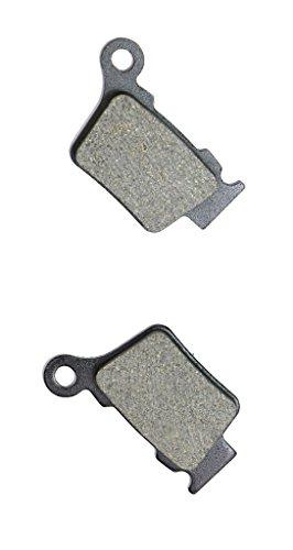 CNBK Rear Brake Pads Semi-Metallic fit for HUSQVARNA Dirt Bike SM450 SM 450 R 06 06 2006 1 Pair2 Pads