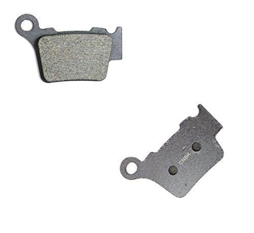 CNBK Rear Brake Pads Semi Metallic for HUSQVARNA Dirt Bike TE510 TE 510 R 06 07 08 09 10 2006 2007 2008 2009 2010 1 Pair2 Pads