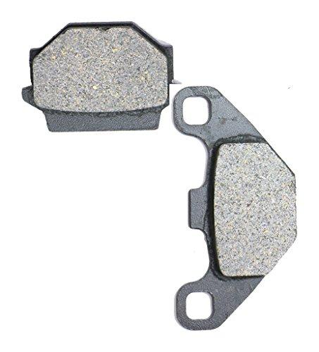CNBK Rear Brake Shoe Pads Semi-Metallic fit HUSQVARNA Dirt Bike TE350 TE 350 Enduro 90up 1990up 1 Pair2 Pads