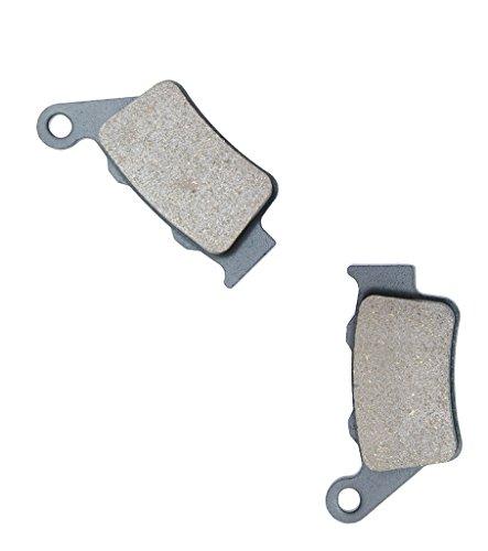 CNBK Rear Brake Shoe Pads Semi-met fit HUSQVARNA Dirt Bike SMS630 SMS 630 11 12 13 2011 2012 2013 1 Pair2 Pads