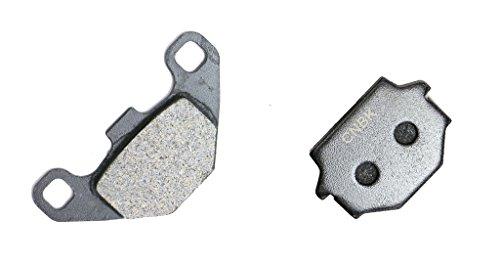 CNBK Rear Disc Brake Pads Carbon fit HUSQVARNA Dirt Bike 510 Dart 90up 1990up 1 Pair2 Pads