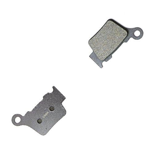 CNBK Rear Disc Brake Pads Semi Met fit HUSQVARNA Dirt Bike TE125 TE 125 2T 14 15 2014 2015 1 Pair2 Pads