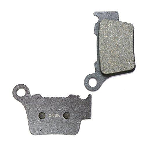 CNBK Rear Disc Brake Pads Semi-met for HUSQVARNA Dirt Bike TE449 TE 449 4T 11 12 13 2011 2012 2013 1 Pair2 Pads