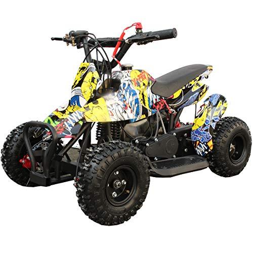 X-PRO 40cc Kids ATV 4 Wheelers 40cc ATV Quads Kids Quad,Hip-Hop