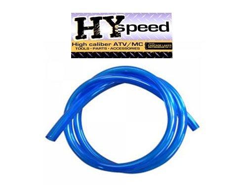HYspeed PVC Fuel Gas Line 14 ID X 38 OD 3 Blue ATV Motorcycle