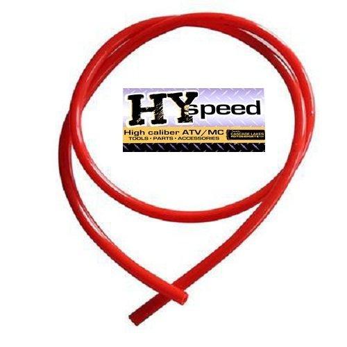 HYspeed PVC Fuel Gas Line 14 ID X 38 OD 3 Red ATV Motorcycle Honda