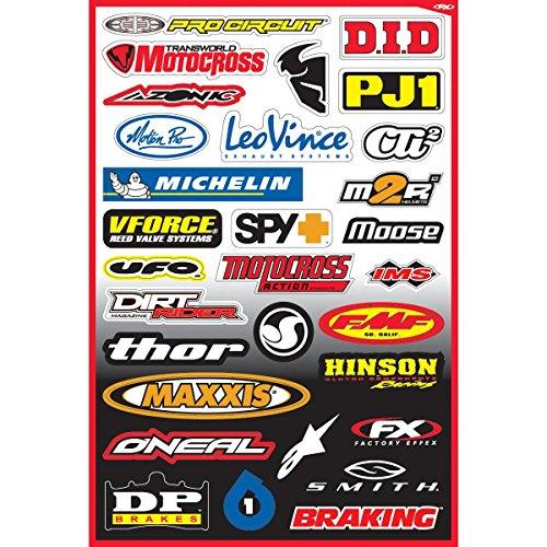 Factory Effex Sponsor Sticker Kit - Sponsor Kit B