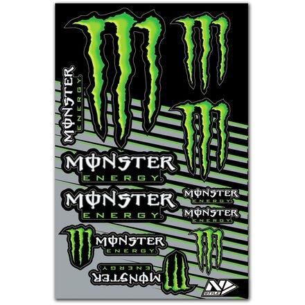 N-Style N30-1045 Universal Sticker Kit - Monster Energy Style 1