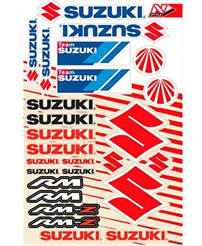 N-Style N30-1050 Universal Sticker Kit - Suzuki Style 4