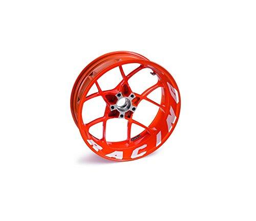 NEW KTM RIM DECALS STICKER KIT WHITE RACING 1290 SUPER DUKE R 2014 6130999910028