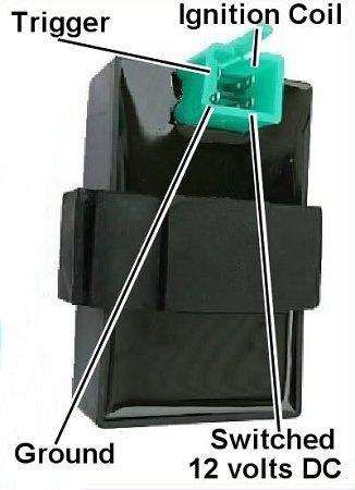 4 PINS PRONGS DC CDI REV BOX 125CC 150CC 200CC 250CC 300CC ATV SCOOTER GO KART