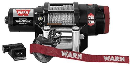 New Warn ProVantage 2500 lb Winch With Model Specific Mounting Hardware - 2002-2006 Suzuki Vinson 500 4x4 Automatic ATV