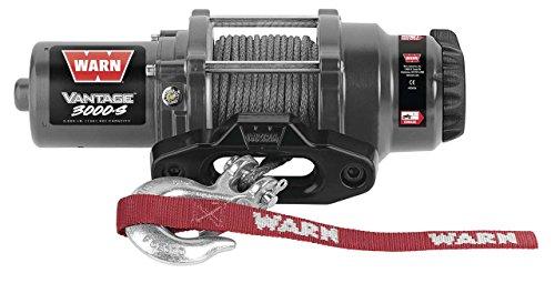 New Warn Vantage 3000 lb With Synthetic Rope Model Specific Mounting Hardware - 2003-2004 Yamaha Kodiak 400 Automatic ATV
