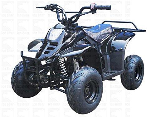 TAO TAO 110cc  Gas ATV Fully Automatic ATV 4 Wheeler for KIDS - New SPORTY Black Color