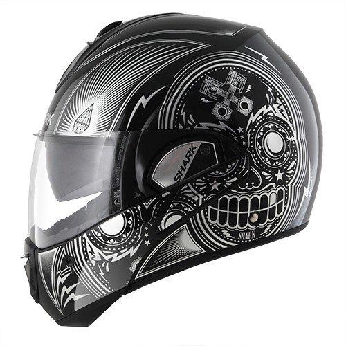 Shark Evoline Series 3 Mezcal Chrome Black Helmet L