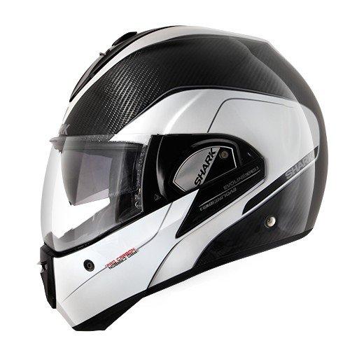 Shark Evoline Series 3 Pro Carbon White Helmet L