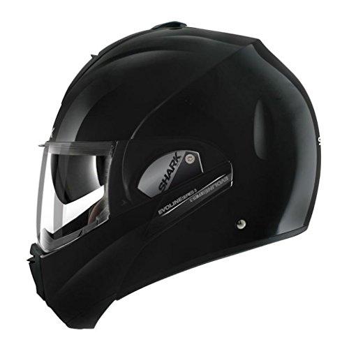 Shark Evoline Series 3 Uni Gloss Black Modular Motorcycle Helmet Size Large