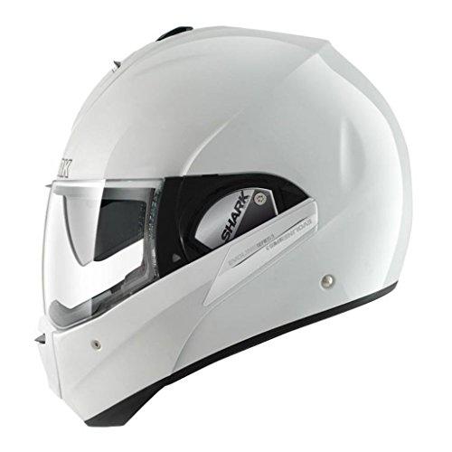 Shark Evoline Series 3 Uni Gloss White Modular Motorcycle Helmet Size Small