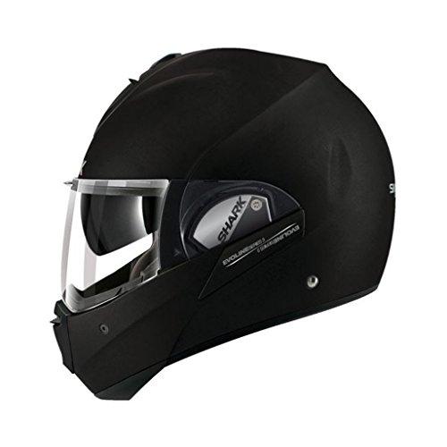 Shark Evoline Series 3 Uni Matte Black Modular Motorcycle Helmet Size Large