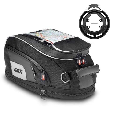 Givi tank bag set XS307  Tanklock-System ring bf05 Yamaha TDM 900 02-13