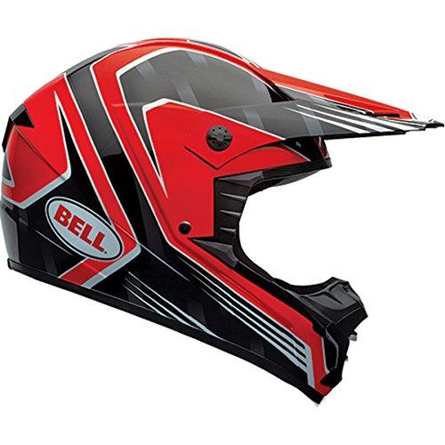 Bell Race Mens SX-1 MX Motorcycle Helmet - Red  Medium