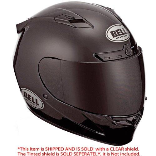 Bell Vortex Gloss Black Full Face Helmet - Medium
