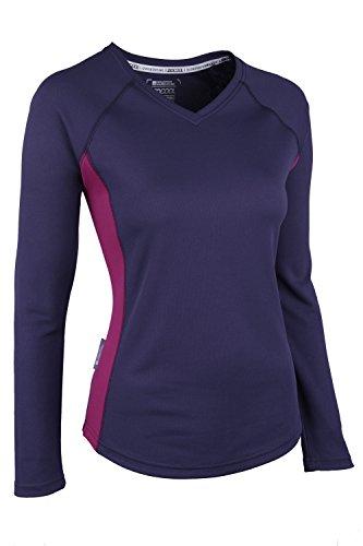 Mountain Warehouse Endurance Womens Long Sleeved V Neck Top