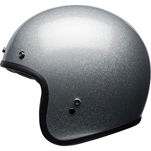 Bell Adult Custom 500 Cruiser Helmet - Silver Flake  Medium