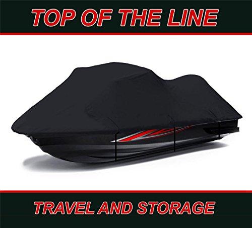 BLACK 600 DENIER Kawasaki ULTRA LX 2007-2017 Jet Ski Cover PWC Covers