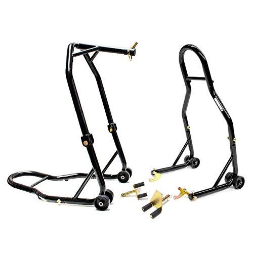 Venom Motorcycle Front Triple Tree Rear Swingarm Spool Lift Combo Wheel Lift Stands For Kawasaki ZX6R 636 13