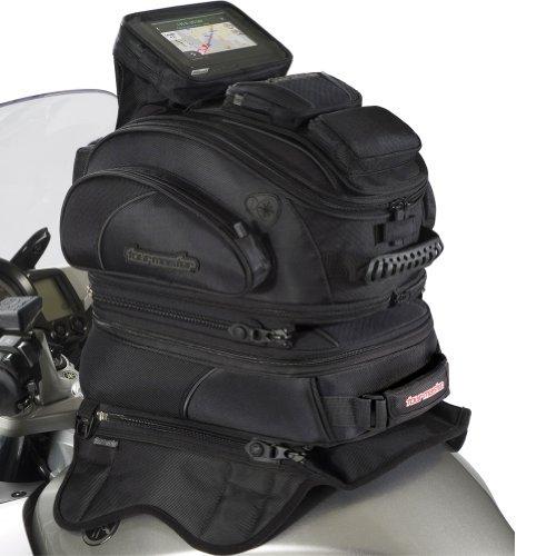 Tour Master Elite Magnetic Mount Tri-Bag Motorcycle Tank Bag - Black  One Size