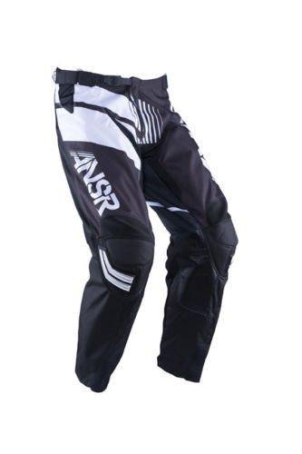 Answer A16 A16 Elite ATV MX Motocross Motorcycle Riding Pant Size 30 Black White