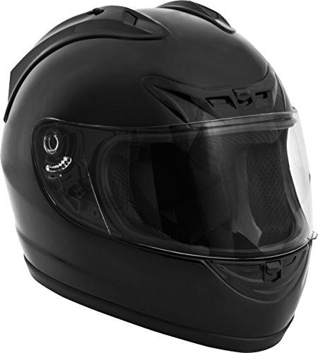 Fuel Helmets SH-FF0016 Full Face Helmet Gloss Black Large