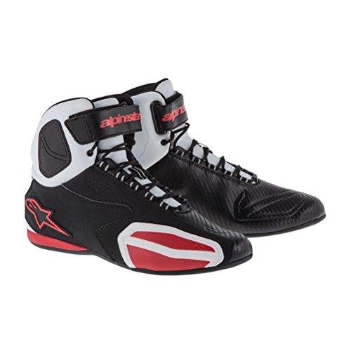 Alpinestars Faster Shoes - 12 US  455 EuroBlackWhiteRed