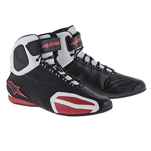 Alpinestars Faster Shoes - 6 US  38 EuroBlackWhiteRed