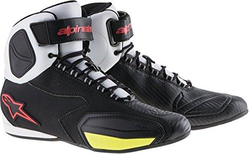 Alpinestars Faster Shoes 95 BLACKWHITEREDYELLOW