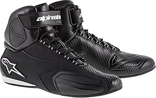 Alpinestars Faster Shoes Primary Color Black Size 135 Distinct Name Black Gender MensUnisex 251021410-135