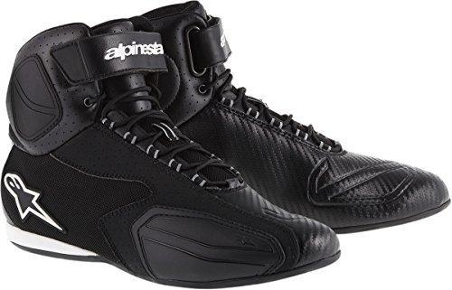 Alpinestars Faster Vented Shoes Primary Color Black Size 12 Distinct Name Black Gender MensUnisex 251031410-12