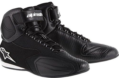 Alpinestars Faster Vented Shoes Primary Color Black Size 135 Distinct Name Black Gender MensUnisex 251031410-135