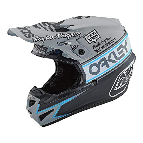 Troy Lee Designs SE4 Polyacrylite Team Edition 2 Off-Road Motocross Helmet Gray Large