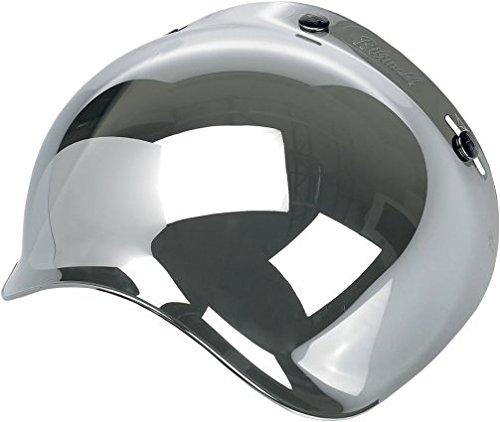 Biltwell Bubble Shield Chrome Mirror Bobber Fulmer Bell Face Shield 34 Helmet