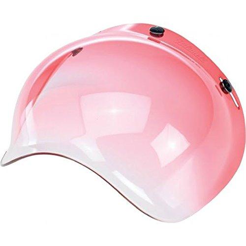 Biltwell Bubble Shield Red Gradient Bobber Fulmer Bell Face Shield 34 Helmet