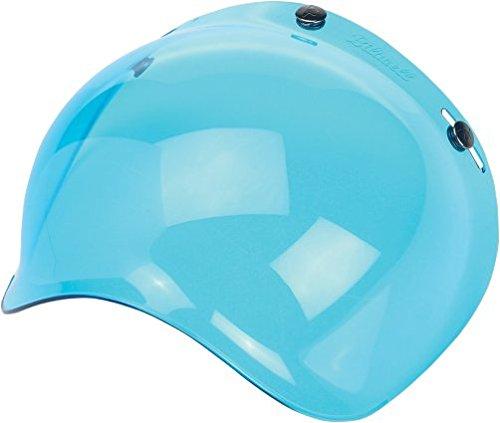 Biltwell Bubble Shield Visor for 3-snap Helmets - Blue