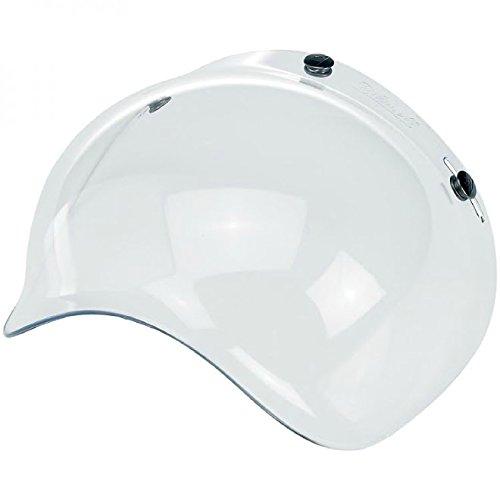 Biltwell Bubble Shield Visor for 3-snap Helmets CLEAR