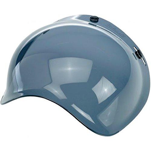 Biltwell Bubble Shield Visor for 3-snap Helmets SMOKE