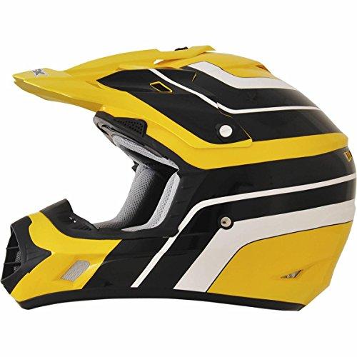 AFX FX-17 Vintage Yamaha Factor Mens Motocross Helmets - Large