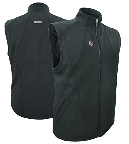 MOBILE WARMING Dual Power Womens 12v Heated Vest Medium Black